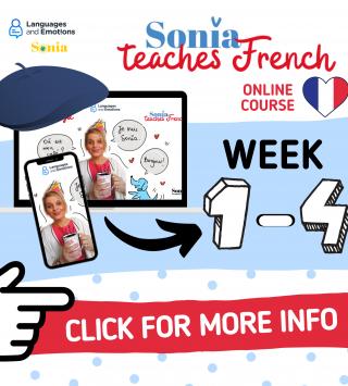 Zabezpieczony: Sonia teaches French – week 1-4