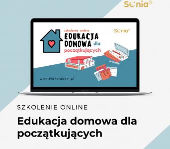 Edukacja domowa dla początkujących – niedzielne szkolenie online